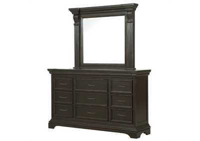 Image for Caldwell Dark Brown 11 Drawer Dresser