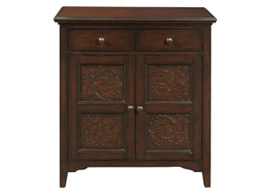 Image for Brown Accent Cabinet