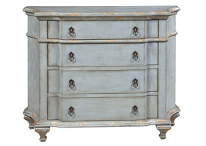 Image for Rugged Blue Accent Chest