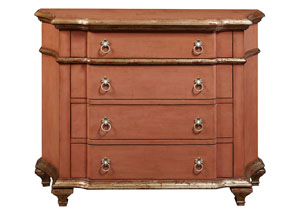 Image for Faded Red Accent Chest