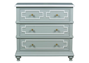 Sky Blue Accent Table