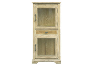 Tan Accent Cabinet