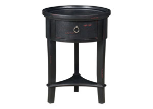 Black Accent Table