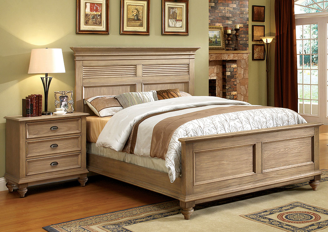 Utah Furniture Direct Coventry Weathered Driftwood Full Panel Bed w ...