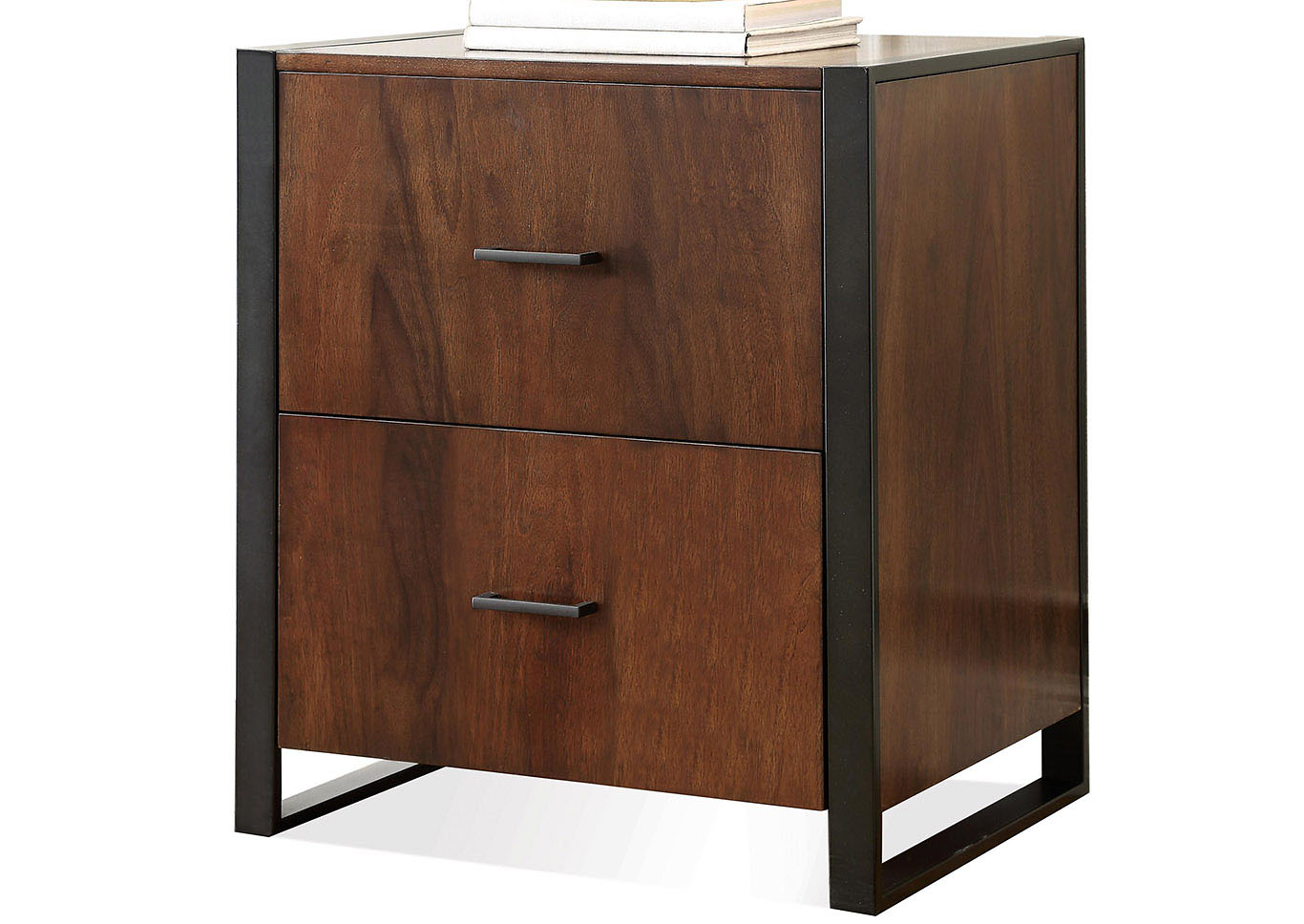 Merveilleux Terra Vista Walnut File Cabinet,Riverside