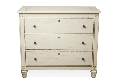 Huntleigh Vintage White Bachelors Chest