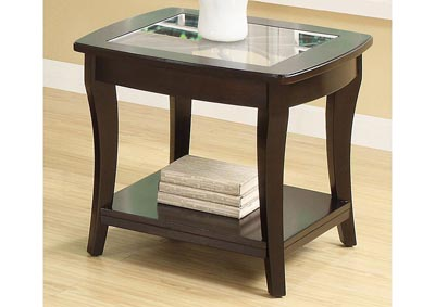 Annandale Dark Mahogany End Table