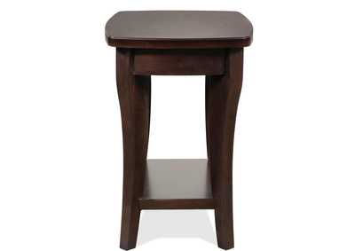 Annandale Dark Mahogany Chairside Table