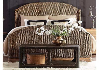 Sherborne Toasted Pecan King Woven Bed