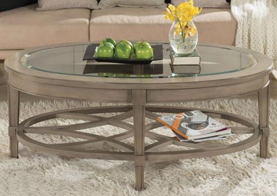 Parkdale Dove Grey Coffee Table