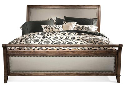Belmeade King Sleigh Upholstered Bed
