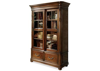 Bristol Court Siding Door Bookcase