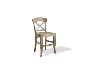 Regan Natural X-Back Counter Stool (2 per Order)