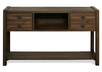 Perspectives Brown Hall Console Table