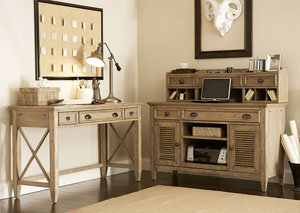 Coventry Weathered Driftwood Corner Unit