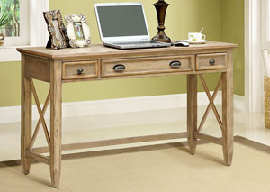 Coventry Weathered Driftwood Writing Desk
