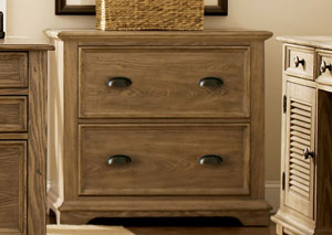 Coventry Weathered Driftwood Lateral File Cabinet