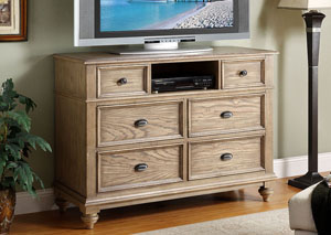 Conventry Weathered Driftwood Entertainment Chest