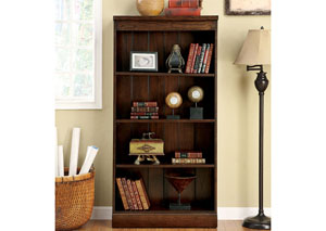 Castlewood Warm Tobacco Bookcase