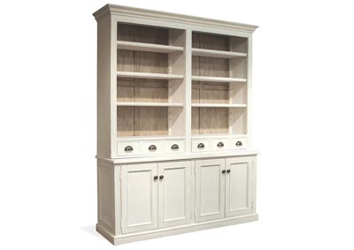 Juniper White China Cabinet