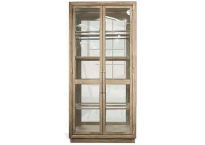 Sophie Natural Display Cabinet
