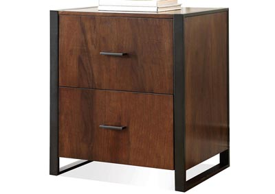 Terra Vista Walnut File Cabinet
