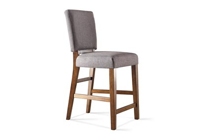 Terra Vista Walnut Upholstered Counter Stool (2 per Order)