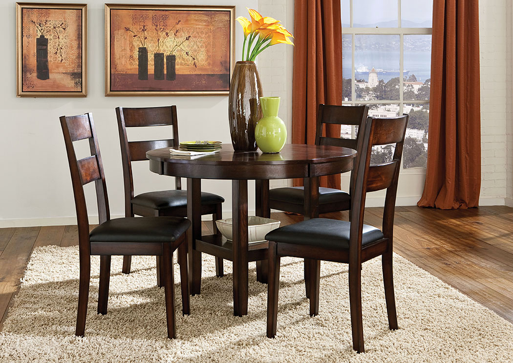 Pendleton Dining Table w/ 4 Side Chairs,Standard