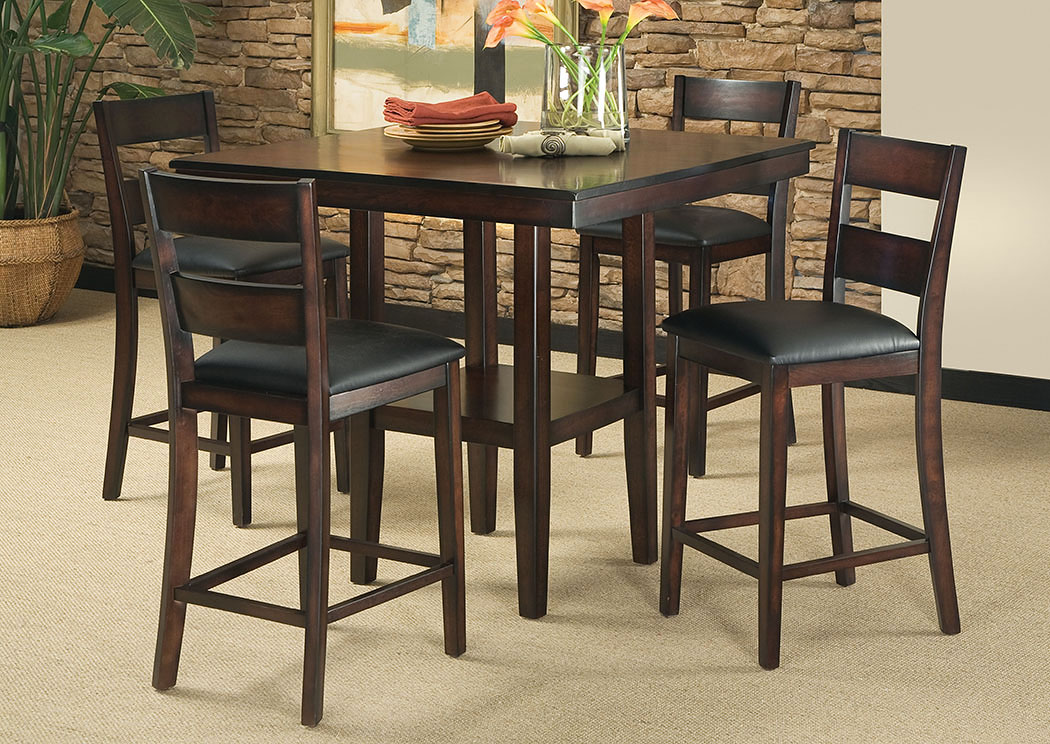 Pendleton Counter Height Table w/4 Side Chairs,Standard