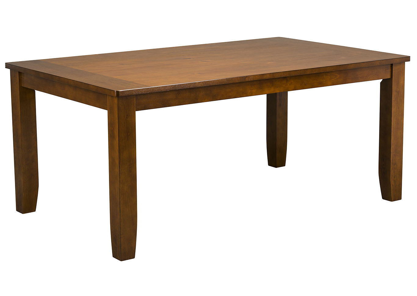 Vintage Brown Rectangular Dining Table,Standard