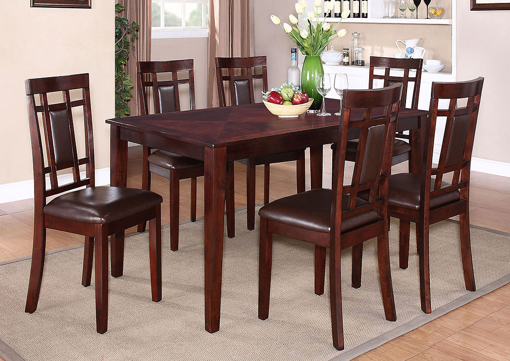 Westlake Dining Room Table w/6 Side Chairs,Standard