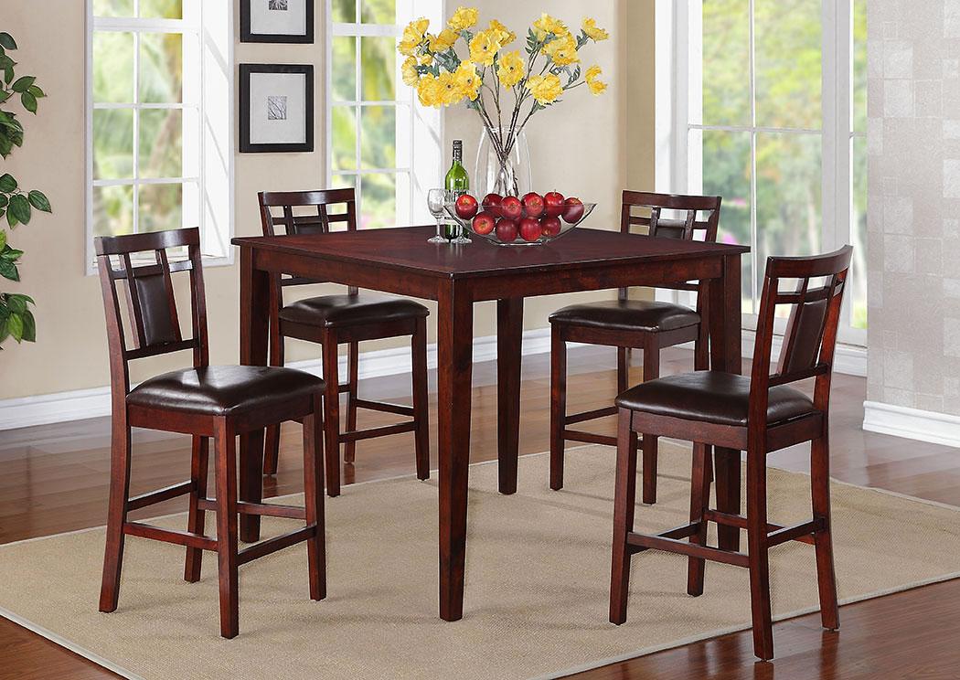 Westlake Counter Height Table w/4 Barstools,Standard