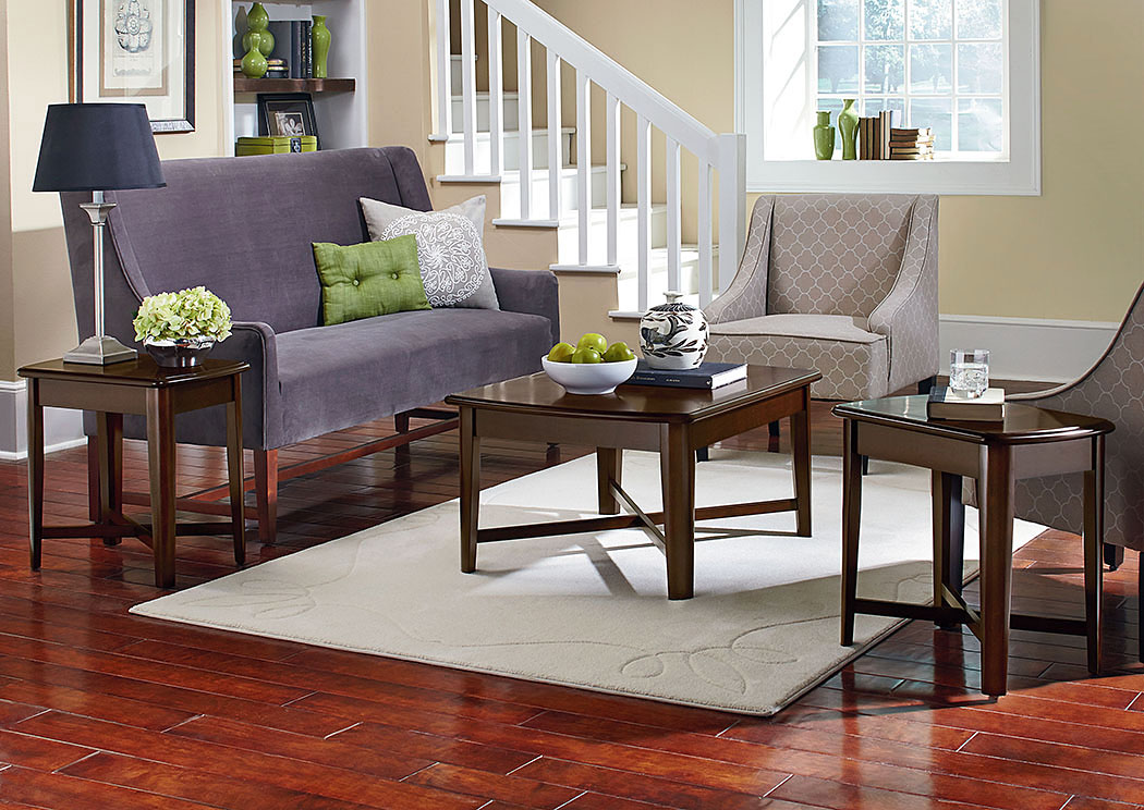Townhouse Cherry Occasional Table Set,Standard