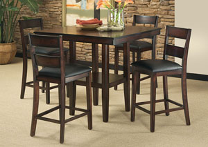 Pendleton Counter Height Table w/4 Side Chairs