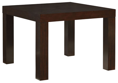Image for Couture Elegance Brown Square Dining Table