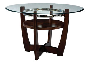 Apollo Beveled Glass Dining Table