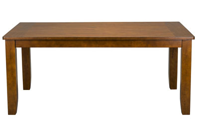 Image for Vintage Brown Rectangular Dining Table