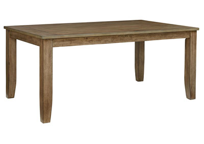 Image for Vintage Gray Rectangular Dining Table