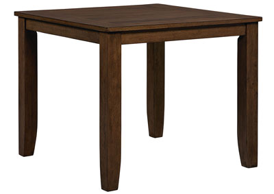 Image for Vintage Brown Square Counter Table