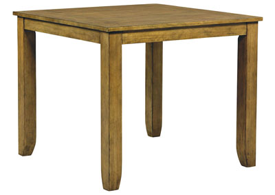 Image for Vintage Gray Square Counter Table