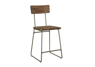 Oslo Brown Counter Chair