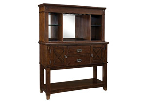 Image for Sonoma Brown China Cabinet