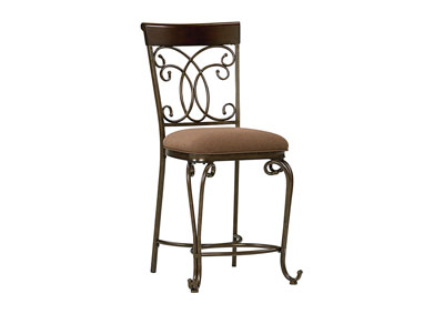Bombay Brown Counter Chair (Set of 2)