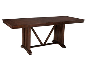 Artisan Loft Counter Height Table w/18' Leaf