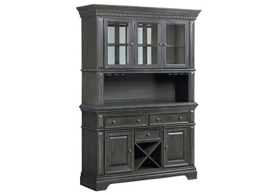 Image for Garrison Charcoal China Cabinet