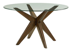 Roxbury Glass Dining Room Table