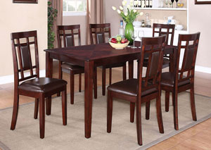 Westlake Dining Room Table w/6 Side Chairs