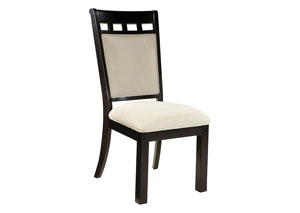 Gateway Off-White Upholstered Side Chair (Set of 2)