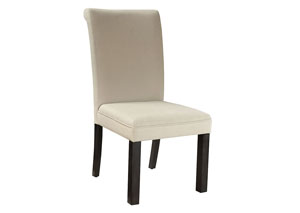 Gateway Off-White Upholstered Parsons Chair (Set of 2)