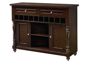 McGregor Dark Midnight Brown Sideboard